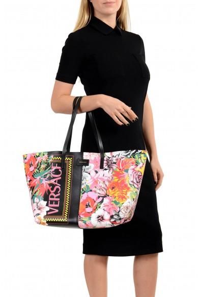 Versace Women's Multi-Color Leather Tote Shoulder Bag: Picture 2