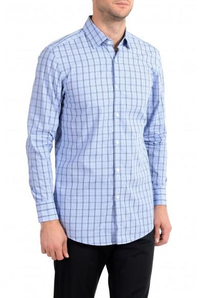 "Hugo Boss ""Marley US"" Men's Plaid Sharp Fit Long Sleeve Dress Shirt: Picture 2"