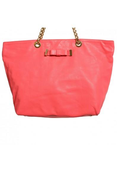 Red Valentino Women's Pink 100% Leather Handbag Shoulder Bag: Picture 2
