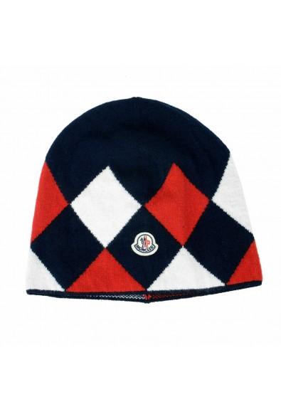 Moncler Unisex Multi-Color 100% Wool Hat