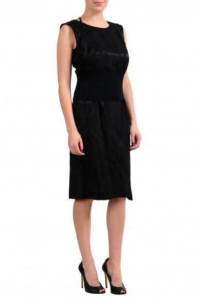 Maison Margiela MM6 Black Sleeveless Women's Sheath Dress: Picture 2