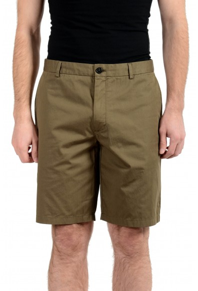 Burberry Men's Olive Green Casual Shorts