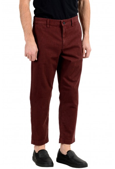 "Hugo Boss ""Salt C"" Men's Burgundy Stretch Casual Pants: Picture 2"