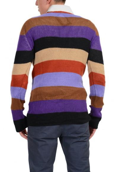 """Prada """"Ruggine"""" Men's Multi-Color 100% Cashmere Sweater : Picture 2"""