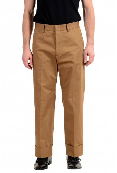Gucci Brown Striped Men's Casual Pants