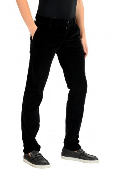 Dolce & Gabbana Men's Black Stretch Corduroy Casual Pants: Picture 2