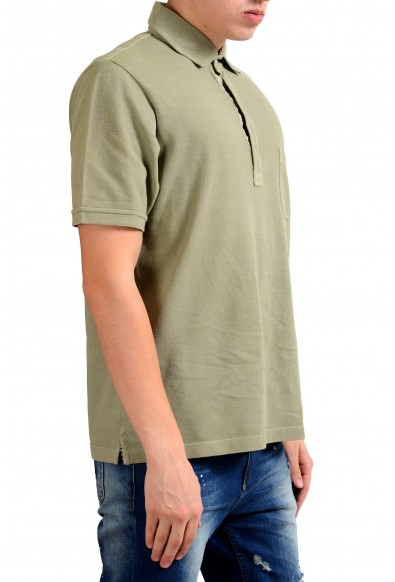 Malo Men's Moss Green Short Sleeve Polo Shirt: Picture 2