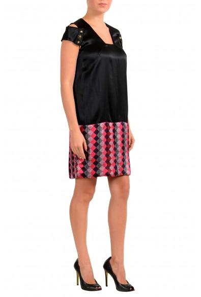 Just Cavalli Women's Multi-Color Silk Shift Dress: Picture 2