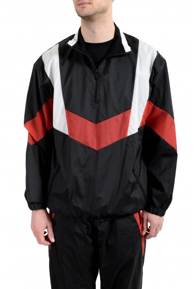 "Hugo Boss Men's ""Droyes"" Multi-Color 1/3 Zip Up Windbreaker Jacket"