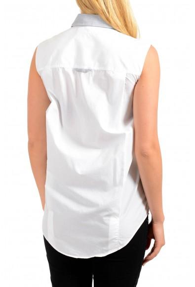 Maison Margiela MM6 Women's Gray Button Down Blouse Top : Picture 2