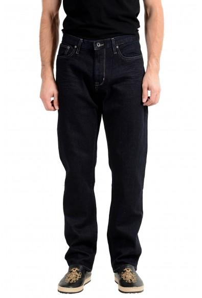 John Varvatos Star USA Men's Dark Blue Straight Leg Jeans