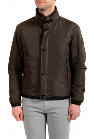 """Hugo Boss Men's """"Cernos"""" Green Insulated Windbreaker Jacket"""