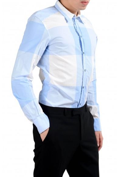 "Dolce & Gabbana ""Gold"" Long Sleeve Plaid Men's Dress Shirt: Picture 2"