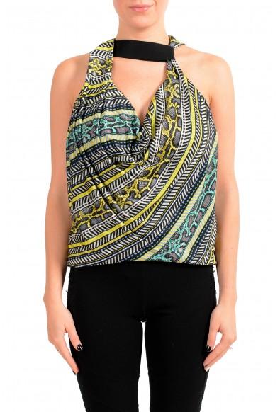 Just Cavalli Women's Multi-Color Blouse Top