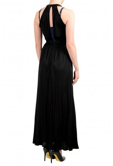 Versace Collection Women's Black Deep V-Neck Dress : Picture 2