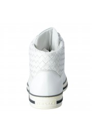 Gianni Versace Men's Leather Hi Top Sneakers Shoes : Picture 3