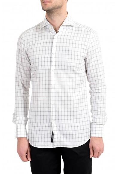 "Hugo Boss ""T-Christo"" Men's Slim Plaid Long Sleeve Dress Shirt"