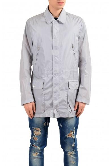 Malo Gray Full Zip Men's Windbreaker Jacket