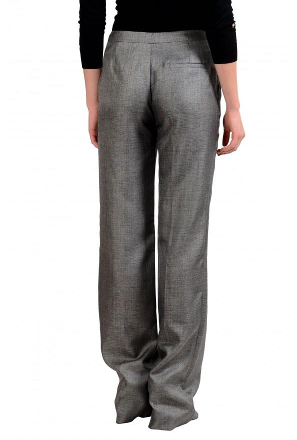 Viktor & Rolf Women's Wool Gray Dress Pants : Picture 3