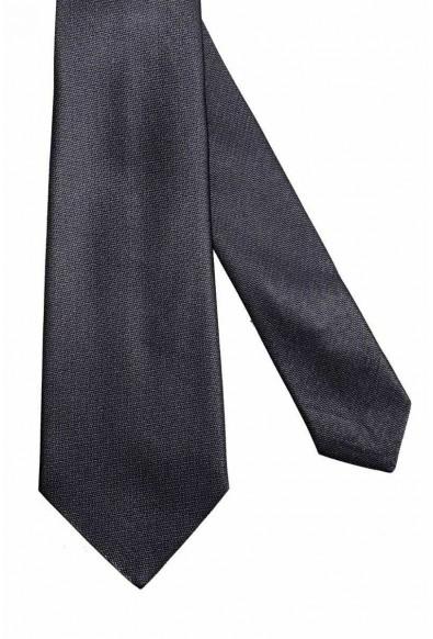 Valentino Dark Gray Men's 100% Silk Neck Tie