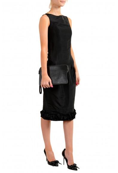 Prada Women's 2VF056 100% Saffiano Leather Wristlet Clutch Bag: Picture 2
