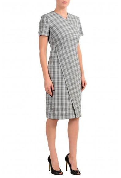 "Hugo Boss ""Dirmala"" Women's White Black Short Sleeve Sheath Dress : Picture 2"