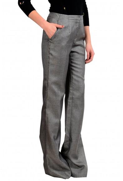 Viktor & Rolf Women's Wool Gray Dress Pants : Picture 2
