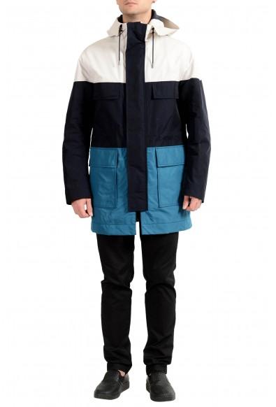 """Hugo Boss """"Corbyn"""" Men's Multi-Color Full Zip Hooded Jacket"""