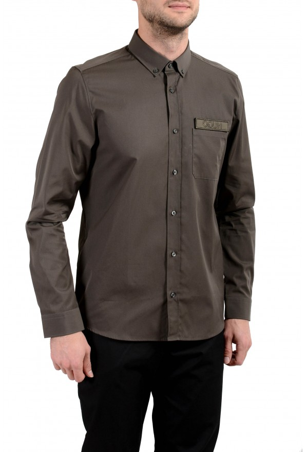 "Hugo Boss ""Emingway"" Men's Straight Fit Long Sleeve Casual Shirt"