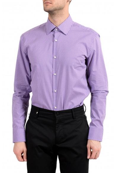"Hugo Boss ""Jacob"" Men's Slim Plaid Button Down Long Sleeve Dress Shirt: Picture 2"