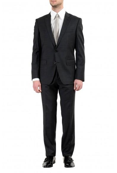 """Hugo Boss """"Huge6/Genius4"""" Men's 100% Wool Gray Two Button Suit"""