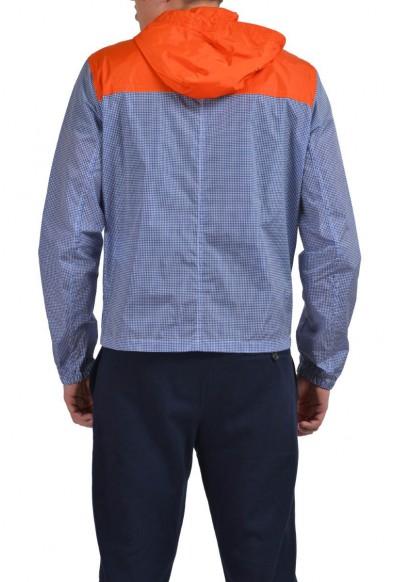 Prada Men's Multi-Color Hooded Full Zip Windbreaker Jacket: Picture 2