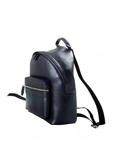 Salvatore Ferragamo Unisex Blue Leather Large Backpack Bag: Picture 2
