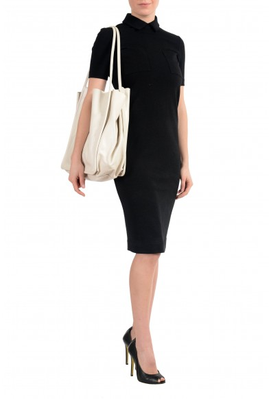 Proenza Schouler Women's Ivory Leather Tote Handbag Shoulder Bag