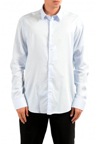"""Versace Collection """"Trend"""" Men's Light Blue Long Sleeve Dress Shirt"""