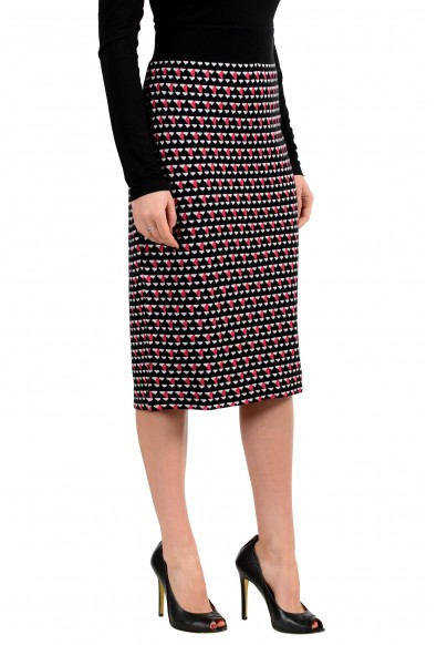 "Hugo Boss Women's ""Estane"" Multi-Color Stretch Pencil Skirt: Picture 2"