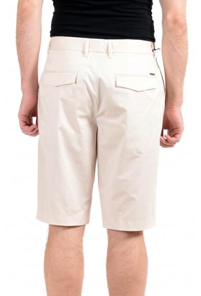 "Hugo Boss ""Kirio-Short-Pleats"" Men's Beige Stretch Casual Shorts: Picture 2"