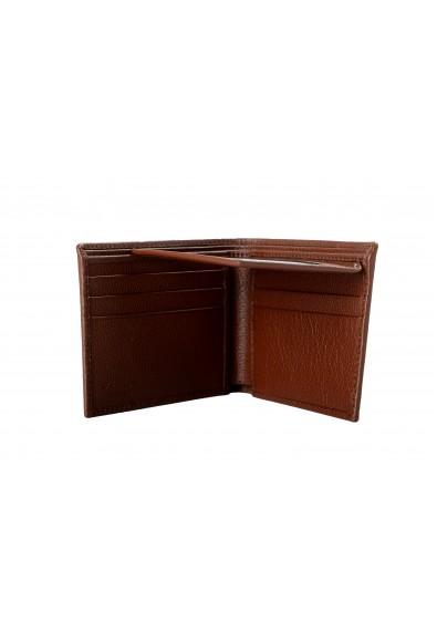 Salvatore Ferragamo Men's Brown 100% Pebbled Leather Bifold Wallet: Picture 2