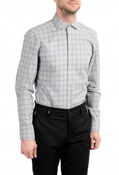 """Hugo Boss """"Jason"""" Men's Slim Gray Long Sleeve Dress Shirt: Picture 2"""
