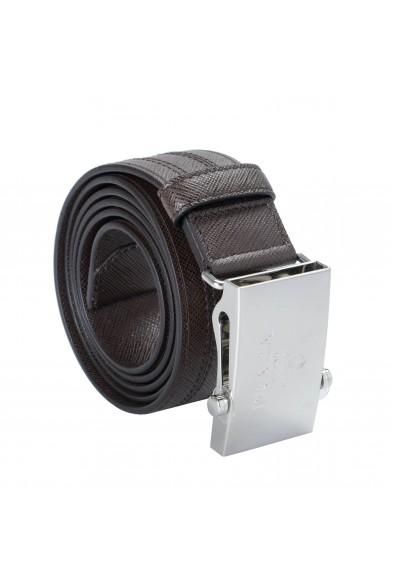 Prada Brown 100% Leather Men's Belt