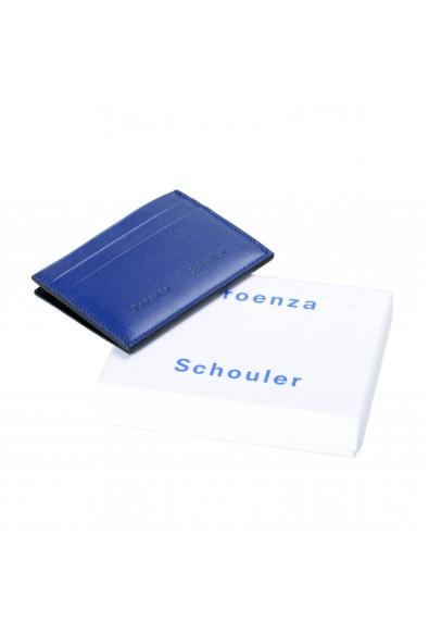 Proenza Schouler Women's Royal Blue 100% Leather Card Holder