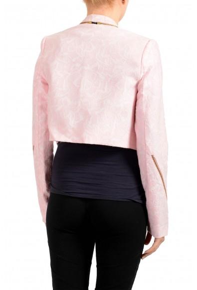 Just Cavalli Women's Pink Wool Blazer Jacket: Picture 2