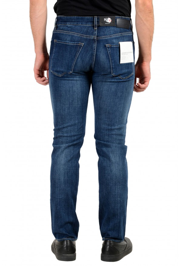 "Hugo Boss Men's ""Maine3"" Regular Fit Blue Wash Stretch Jeans: Picture 4"
