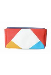 Jil Sander 100% Leather Multi-Color Women's Clutch Bag: Picture 3