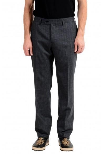 John Varvatos Men's Mohair Wool Dress Pants