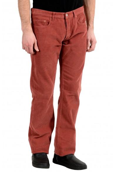 Gucci Men's Brick Red Corduroy Straight Leg Jeans: Picture 2