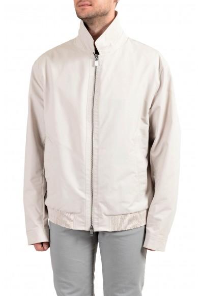 """Hugo Boss """"Cader-WS"""" Men's Beige Full Zip Windbreaker Jacket"""
