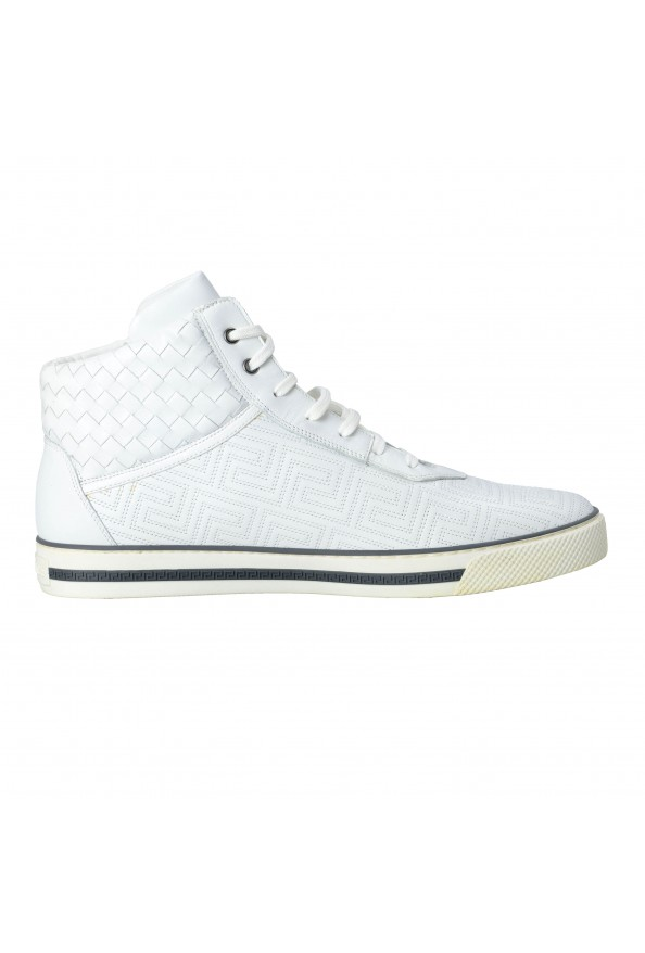 Gianni Versace Men's Leather Hi Top Sneakers Shoes : Picture 6