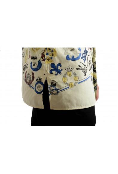 "Burberry Men's ""DUNBAR"" Multi-Color Graphic Print Long Sleeve Shirt: Picture 2"