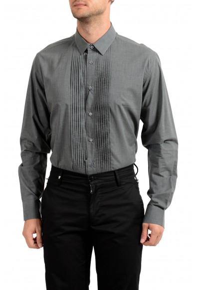 Saint Laurent Men's Gray Long Sleeve Dress Shirt: Picture 2